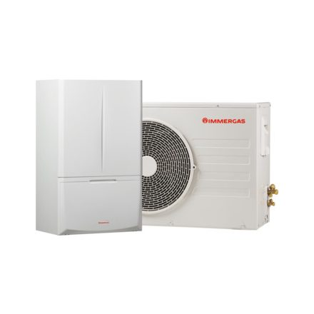 Immergas Magis Combo 6 hőszivattyú és kondenzációs kazán egyben (átfolyós rendszer):