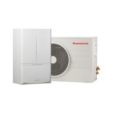 Immergas Magis Combo PLUS 4 - hőszivattyú és kondenzációs kazán egyben (HMV tároló fogadására előkészítve):