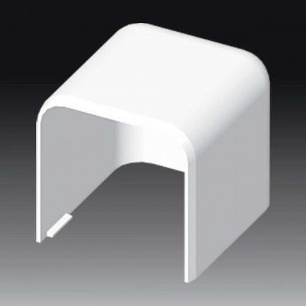 Műanyag kábelcsatorna végidom / 60x60