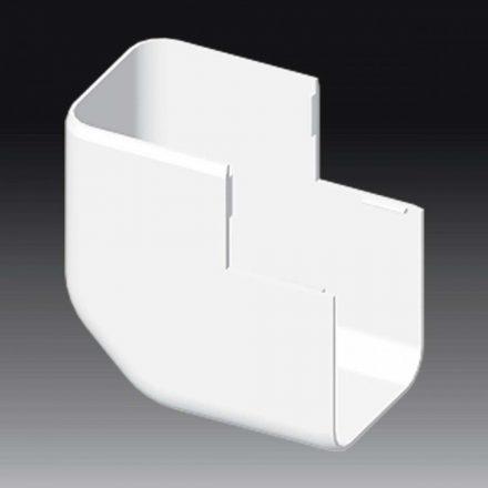 Műanyag kábelcsatorna külső sarokidom / 60x60