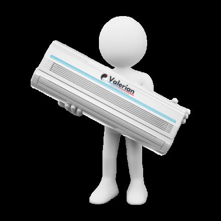 Gree VersatiI All in One - split levegő-víz hőszivattyú  10kW - beépíttet HMV tárolóval.